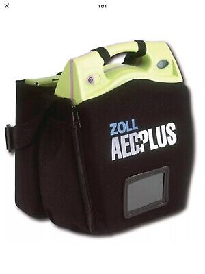 Zoll Aed Plus H40017 Defibrillator Semi Automatic + Accessories Rrp £1199.99+