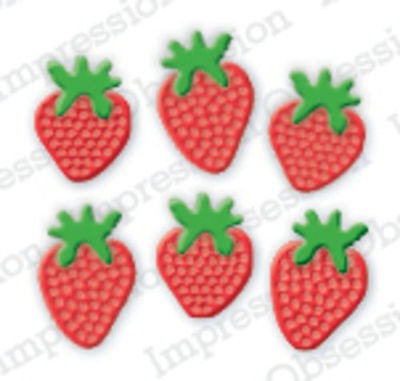 Strawberry Basket suitable for most die cutters 397L Impression Obsession