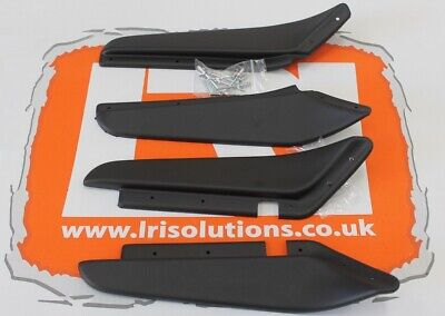 Front rear dirt d fender mud guard arch set textured Fit Land Rover Defender 110