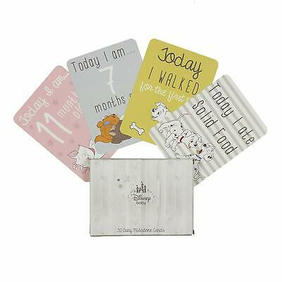 Disney Baby First Milestone Cards with foil - Mum/Gift/Shower/Love