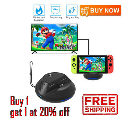Portable Charge TV Dock for Nintendo Switch Replacement Dock with Electronic HGs