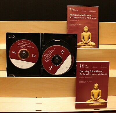 The Great Courses: Practicing Mindfulness an Introduction to Meditation CDs