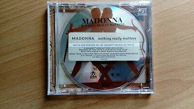 Madonna Nothing Really Matters Rare 3 Track CD (US Release)