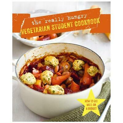 The Really Hungry Vegetarian Student Cookbook by Ryland Peters & Small (COR)