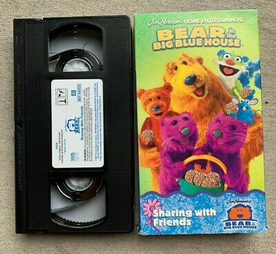 VHS BEAR IN the Big Blue House - Everybody's Special (VHS ...
