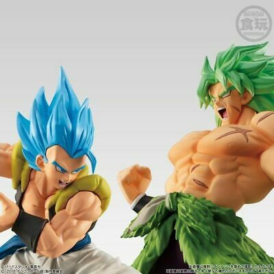 READY Bandai Dragon Ball Styling Super Saiyan God Blue Gogeta+Broly Full Power