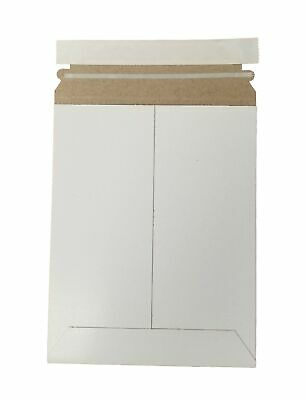 """7"""" x 9"""" Document/Photo Self - Seal Rigid Stay Flat Mailer/Envelope - Pack of 15"""