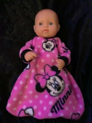 Dolls clothes made to fit 32cm Miniland Dolls (size Small).  Sleeping Bag