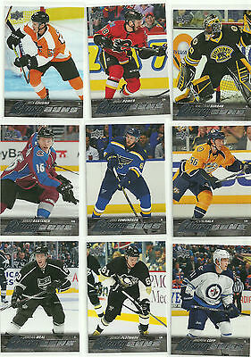 Malcolm Subban 15-16 Upper Deck #211 Young Guns Rc Rookie Complete Set Break