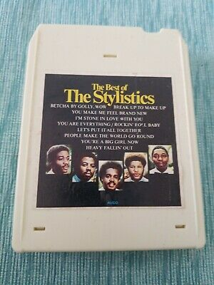 The Best Of The Stylistics Vintage Rare 8 Track Tape Tested! 1975