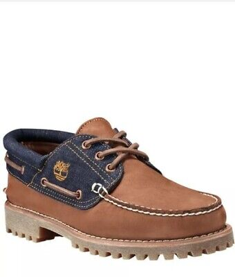 timberland white oak denim 3-eye hommes authentics ean