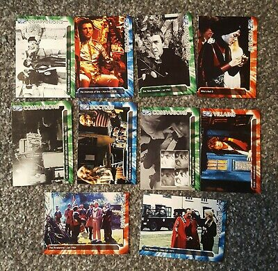 10 Doctor Who Trading Cards Collectable