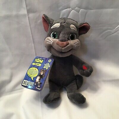 Animated Mini Talking Tom Talk Back Repeats What You Say