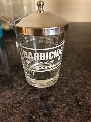 Barbicide Disinfectant Small Glass Jar