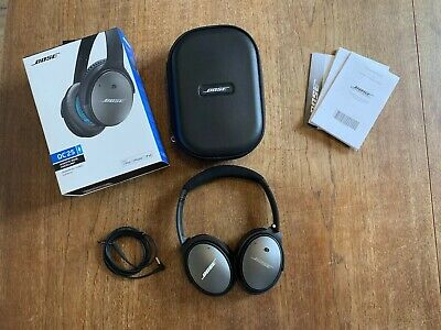 Bose QC QuietComfort 25 Over the Ear Noise Cancelling Headphones - Black