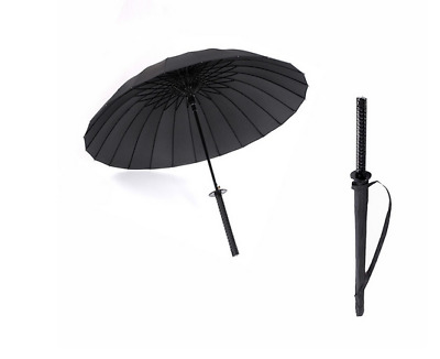 Samurai Sword Umbrellas Creative Large Long Handle Sun Rain Windproof Ninja-like