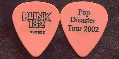 BLINK 182 2002 Clothes Tour Guitar Pick TOM DeLONGE custom concert stage Pick #2
