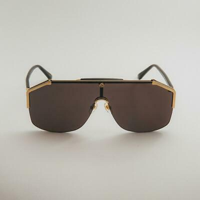 45c08560b3 New Authentic Gucci GG0291S 001 Gold/Black with Grey Sunglasses GG 0291S