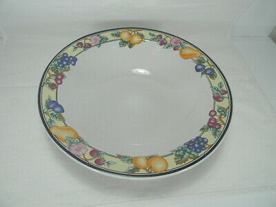 """Oneida **Orchard Round Vegetable Serving Bowl-9-3/8"""""""