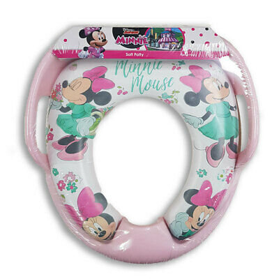 Disney Minnie Mouse Floral Toilet Training Potty Padded Seat Toddler/Kids 2y+ Pi