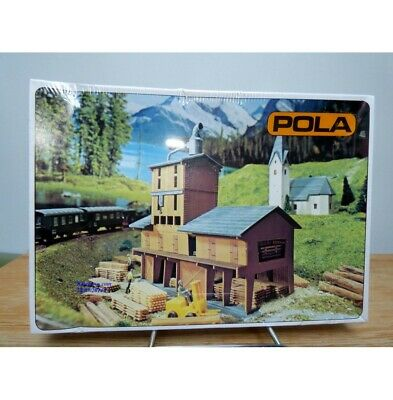 LUMBER SAW MILL BUILDING KIT 'N' Scale Model Power New Sealed 1523