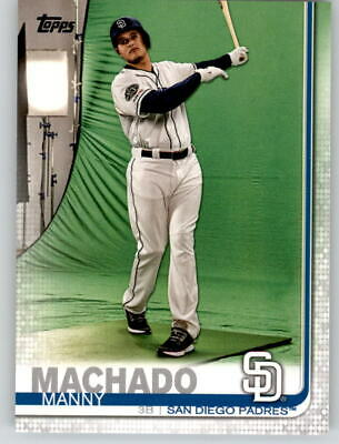 2019 Topps Series 2 SSP Photo Variation SP #500 MANNY MACHADO Padres