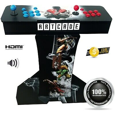 Arcade machine Console style 1299 Games 🔥 2 players 🔥 Arcade with Coin Sloote