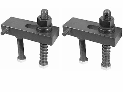2 PACK Jergens JCA 14119 Flange Nut Clamp Assembly | 3/8-16