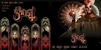 GHOST B.C. First Ritual - Demo 2009 CD BLACK SABBATH CNADLEMASS METALLICA ABBA