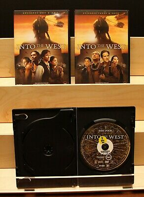 Into The West  TNT Mini-Series   Spielberg   4 DVDs, 6 Episodes  (DVD, 2005)