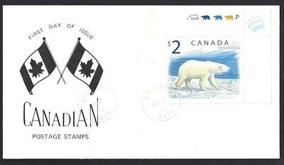 Canada  # 1690  Polar Bear -  Special Event Cachet    New 1998 Unaddressed