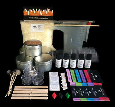 DIY Soap Making, Candle Making, Bath Bomb, Lip Balm & Bath Salt Making Kits