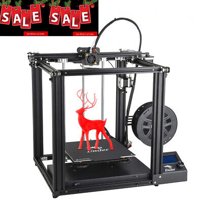 New Creality 3D Ender 5 3D Printer Dual Y-axis Free Gift + Free 1.75mm PLA Gifts