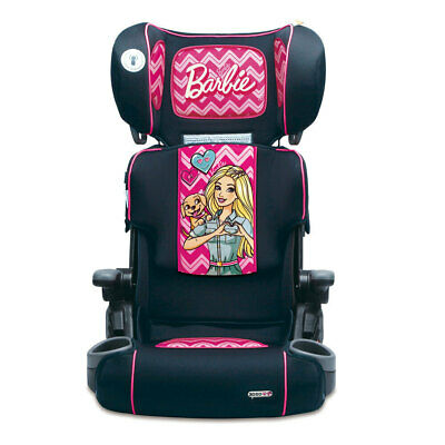 Barbie Foldable Booster Toddler/Child Adjustable Car Seat w/ Cup Holder 4yr+ PK