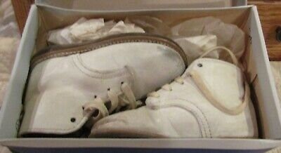 Vintage Pair of Leather Shoes in Original Box For Antique & Vintage Bears