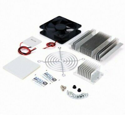 Semiconductor Air Conditioner Cooling SystemDC12V  DIY Kit Heat Sinks With Fan