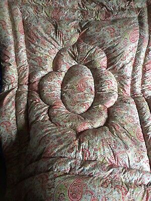 Vintage 30/40s Eiderdown Double