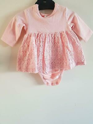 Baby Pink Girls 0-1 month Dress from H&M
