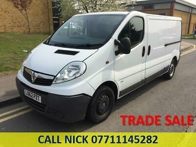 2013 Vauxhall Vivaro 2.0 CDTi 2900 Panel Van 4dr LWB EU5 Manual Panel Van