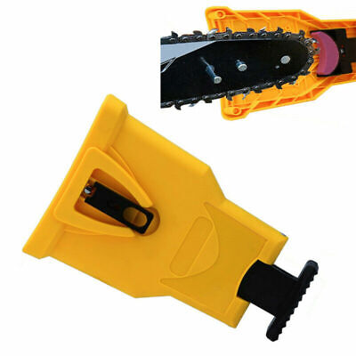 Easy File Chainsaw Teeth Chain Sharpener Power Sharp Bar-Mount for Woodworking N