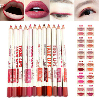 6pcs/Set Waterproof Lip Liner Long Lasting Matte Pen Pencil Cosmetic Makeup Tool