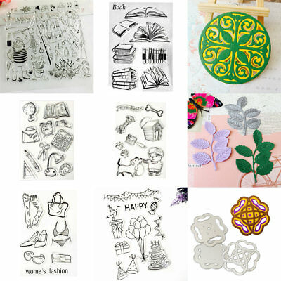 11 Style Metal Cutting Dies Stencil Scrapbooking Embossing Paper Craft Album DIY