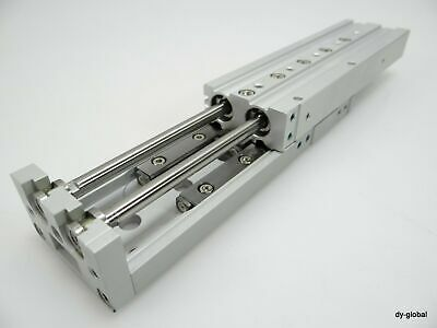 SMC MXS25-125 cyl, slide table, dual rod,  GUIDED CYLINDER