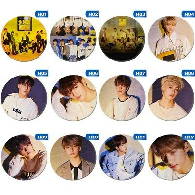 New STRAY KIDS - Clé 2 : YELLOW WOOD Badge Pin Brooch For Clothing Hat Backpack