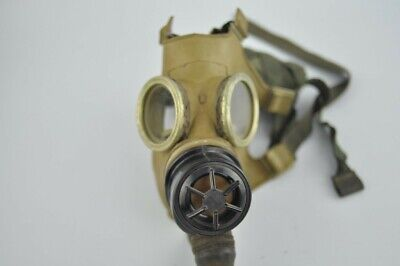 1980 Military Gas Mask canvas straps Russian Soviet ?
