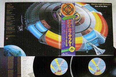 ELECTRIC LIGHT ORCHESTRA OUT OF THE BLUE JET 40AP 1094,5 Japan OBI VINYL 2LP