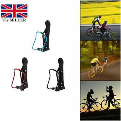 Adjustable Aluminum Water Bottle Holder Bike Bicycle Cycling Mount Rack Cup