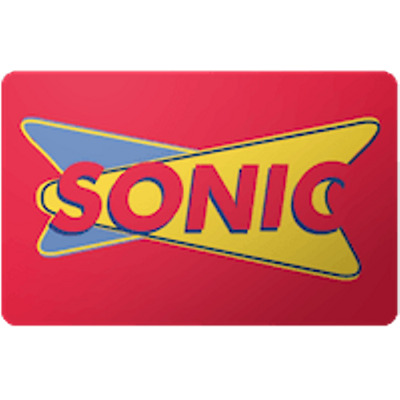 Sonic Gift Card $100 Value, Only $95.00! Free Shipping!