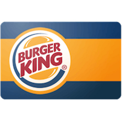 Burger King Gift Card $100 Value, Only $95.00! Free Shipping!