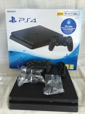Console Sony PlayStation 4 SLIM - PS4 Slim 500 GB - Usata